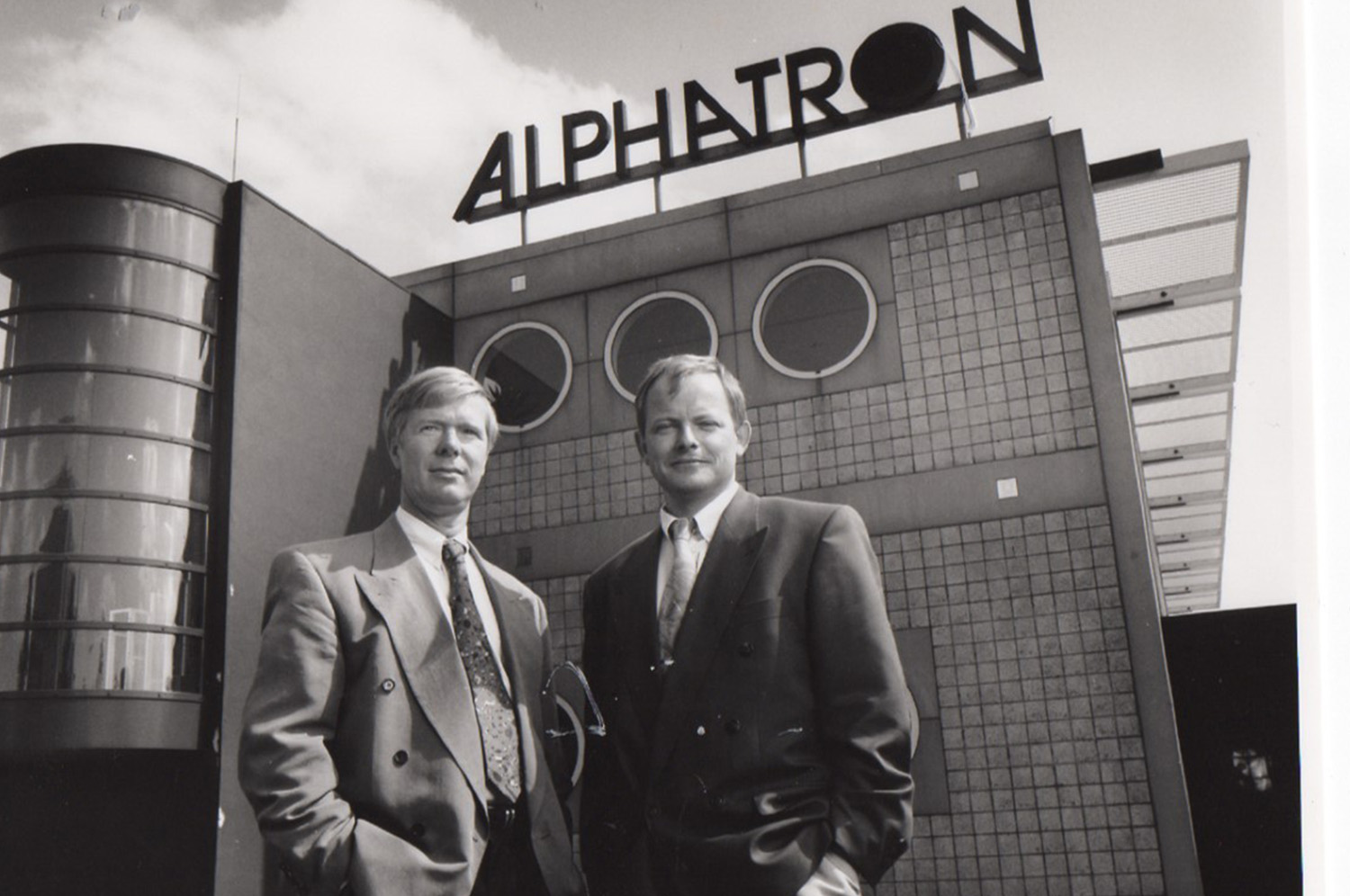 Dick Slingerland (left) and Luuk Vroombout (right)